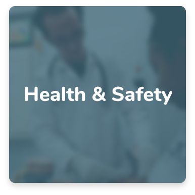 Click here for Health and safety